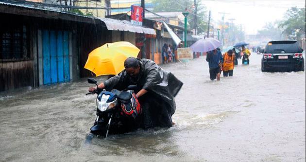 Hagupit yön değiştirdi