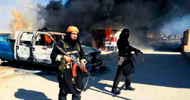 Koalisyon Kerkük'te IŞİD militanlarını vurdu