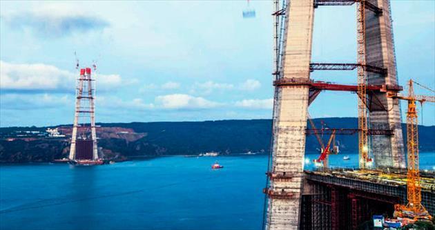 3. Köprü'nün betonu en az 100 yıllık