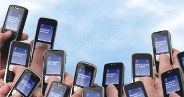Türkiye saniye 4 bin sms attı!