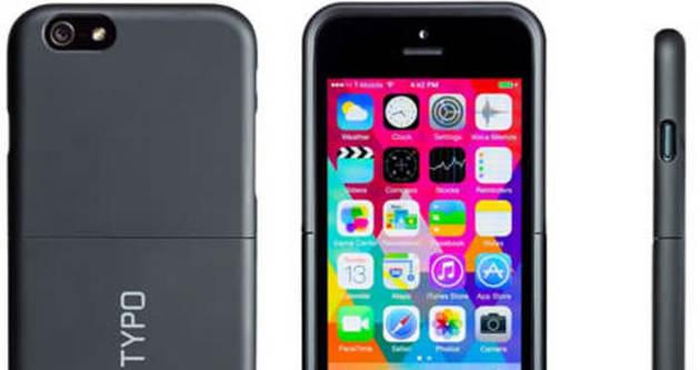 iPhone'lara fiziksel klavye desteği