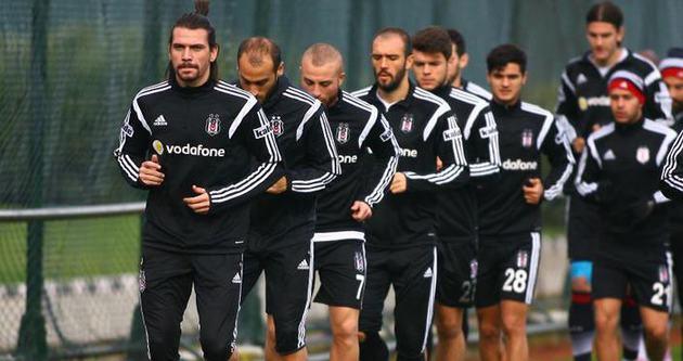 Beşiktaş, 6 eksikle çalıştı!