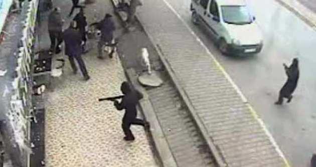 Filmi gibi soygunun görüntüleri ortaya çıktı