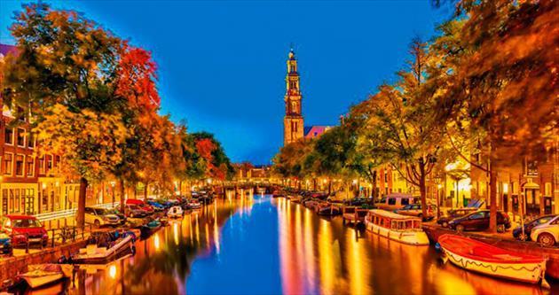 Sanat, lale, ticaret ve özgürlük şehri Amsterdam