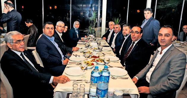 Başkan Öztürk'ten teşekkür yemeği
