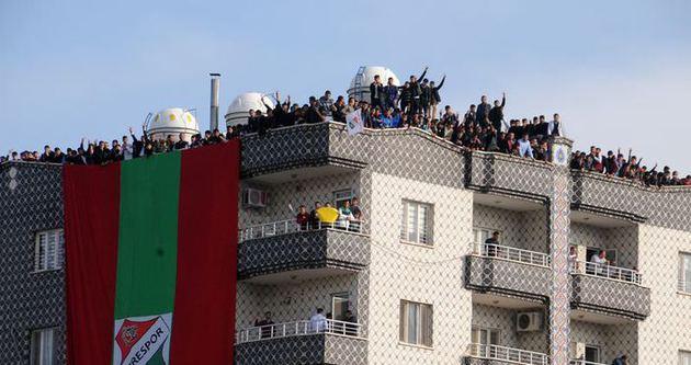 Cizre'de futbol aşkı başkadır!