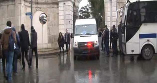 İstanbul Üniversitesi'nde kavga: 9 Gözaltı