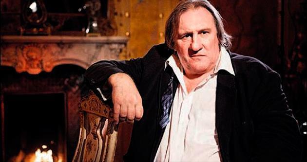 'Yoldaş Depardieu'den komünizm göndermesi