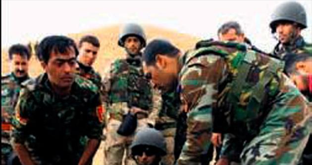 IŞİD ile mücadelede 727 peşmerge öldü