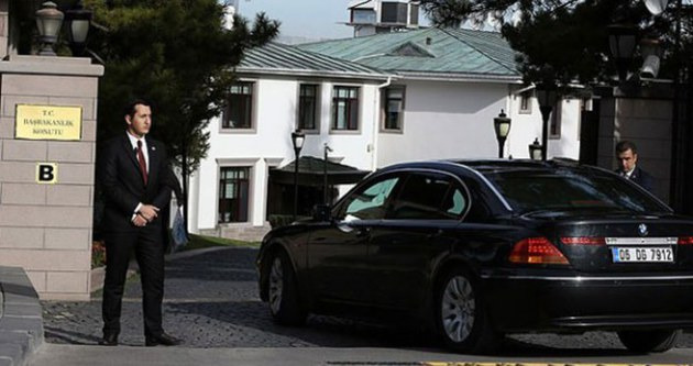 Başbakanlık'taki güvenlik zirvesi başladı