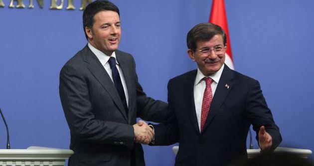 Davutoğlu ve Renzi'dan ortak açıklama