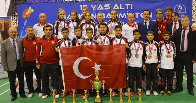15 Yaş Millilerimiz Balkan Şampiyonu