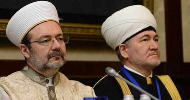 Görmez islam dünyasındaki soruna parmak bastı