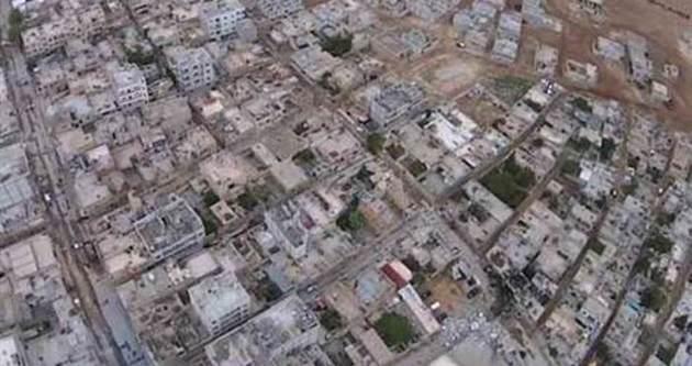 IŞİD saldırıyı yukarıdan görüntüledi!