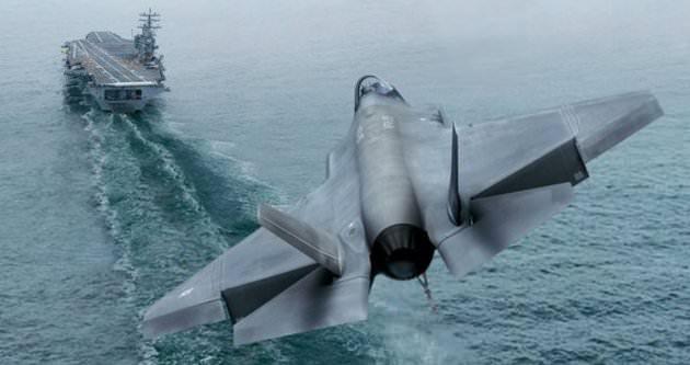 ABD, F35 için Türkiye'yi seçti