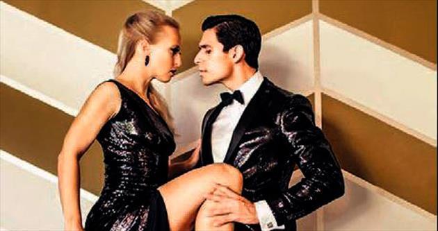 Arjantinli çiftten tango dersi