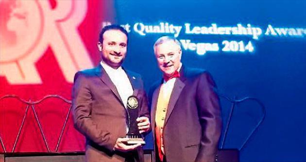 'En İyi Kalite Liderlik' ödülü