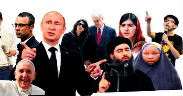 2014'te haberlere Putin damgasını vurdu