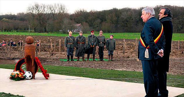 1914 Noel Ateşkesi'nin kahramanları anısına...