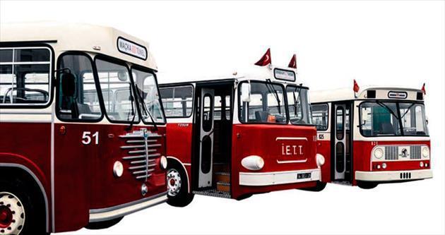 Nostaljik otobüsler yeni yılda yollarda
