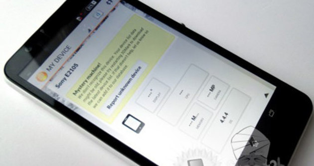 Sony'nin yeni akıllı telefonu gözüktü
