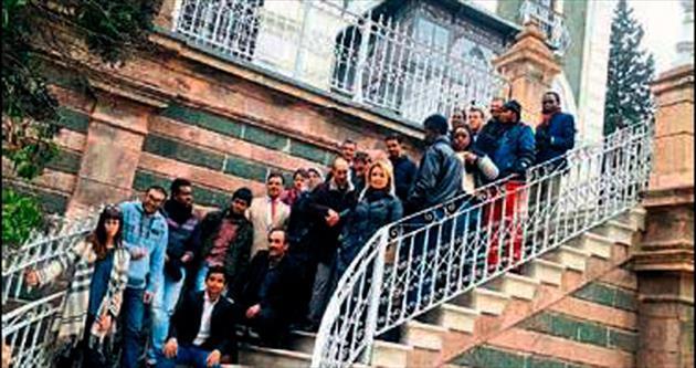 Yabancı öğrenciler İzmir'i çok sevdi