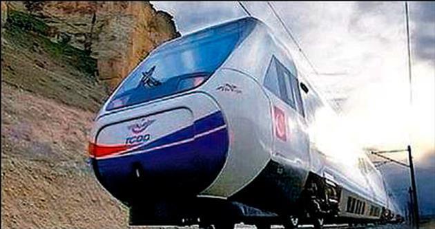 Milli tren tam yol ileri