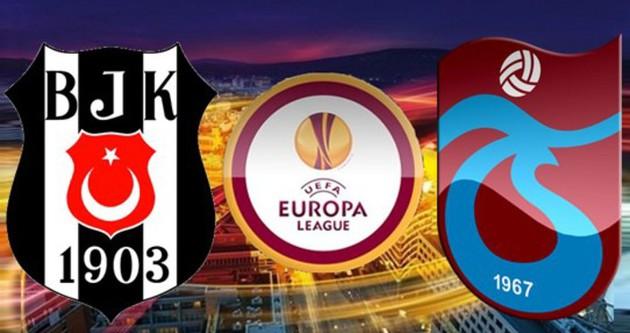Beşiktaş ve Trabzonspor'un rakipleri belli oluyor