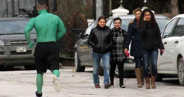 Hulk Başkent sokaklarında