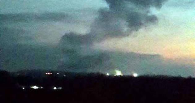 Havai fişek fabrikasında patlama: 1 ölü