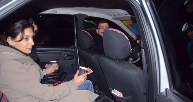 Taksiciden müşterilerine sıra dışı hizmet