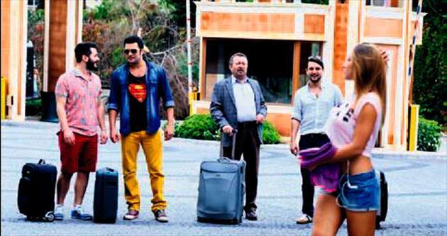 Antalya'da komik olaylar