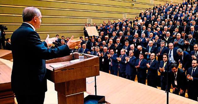 Başkanlar Ankara'da Erdoğan ile buluştu