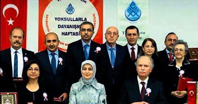 Davutoğlu'ndan YOYAV'a destek