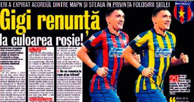 Steaua Bükreş orduya rest çekti!