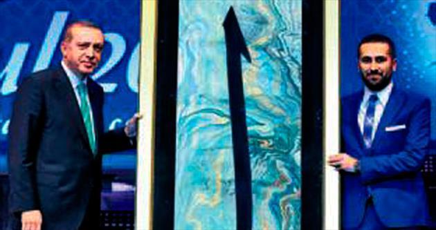 2.5 metrelik elif 2 yılda hazırlandı