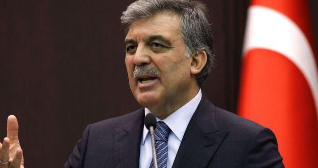 Gül'den 'Pakistan' açıklaması