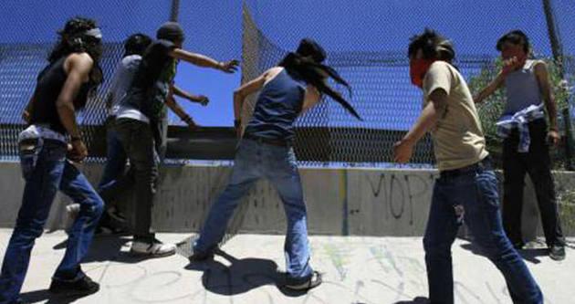 Meksika'da siviller birbiriyle çatıştı