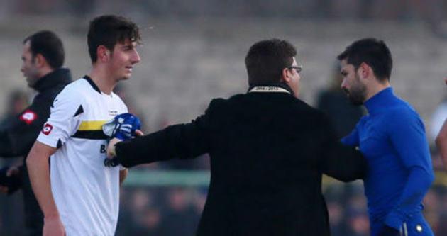 Bayburtlu sporcunun Diego forması mutluluğu