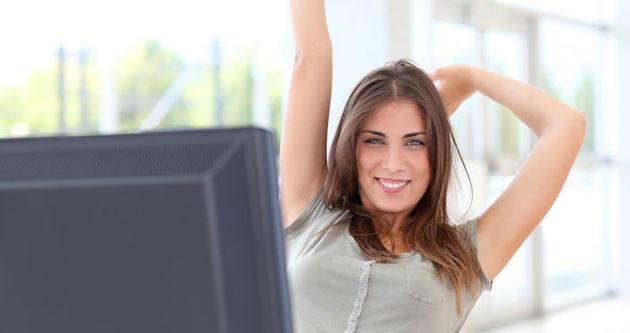 Ofiste formda kalmak için 10 egzersiz