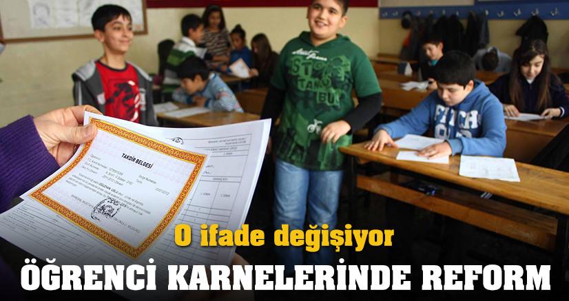 KARNELERDE DEĞİŞİME GİDİLİYOR