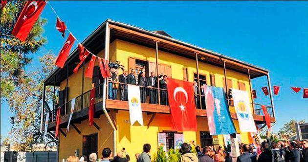 Atatürk'e umut veren konak artık kültüre hizmet edecek