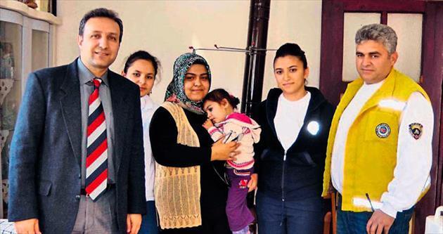 Minik Ravza Nur'a yardım eli uzatıldı