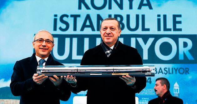 İstanbul-Konya 4 saat 15 dakika