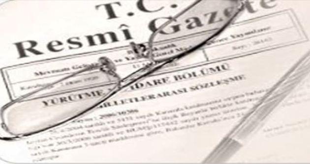 Yargıtay ve Danıştay'ın yeni üyeleri Resmi Gazete'de