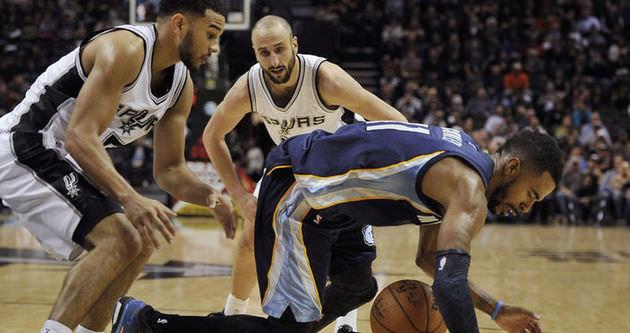 Grizzlies Spurs'u uzatmalarda geçti