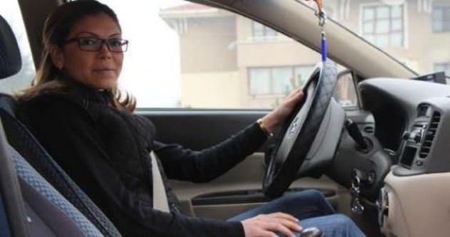 Ev hanımlığından sonra taksicilik kolay geldi