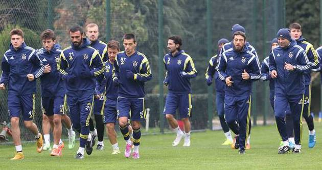 Fenerbahçe'nin 20 kişilik kadrosu