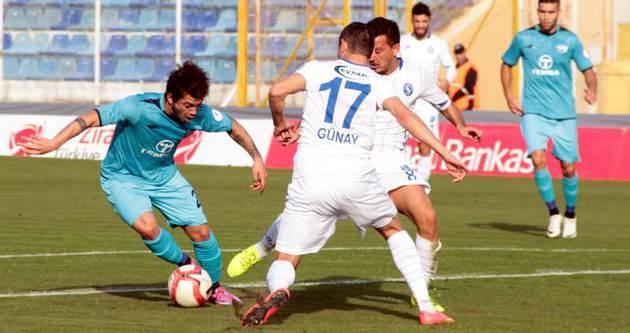 3 puan Adana Demirspor'un