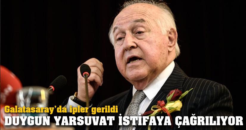 Duygun Yarsuvat'a istifa çağrısı
